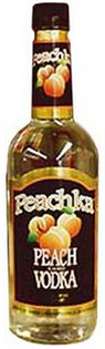 Peachka Vodka Peach 750ml - Case of 12